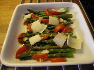 bagte asparges 300x225 Bagte asparges