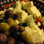 greek salat 150x150 Charter aften med gambas al ajillo