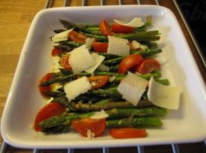 Bagte asparges