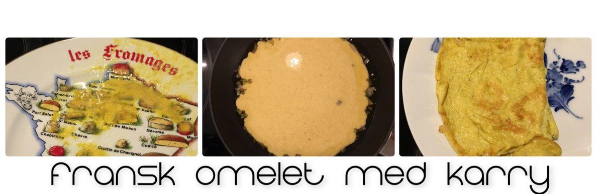 Opskrift på fransk omelet
